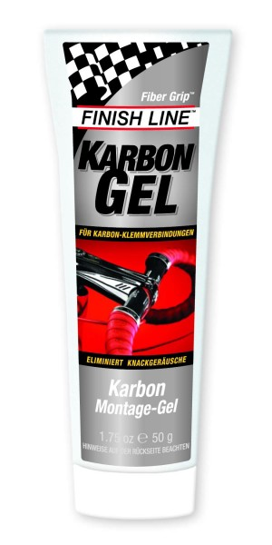 Finish Line Karbon Montage Gel 50g Tube