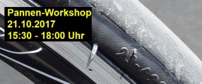 21.10. →Pannen-Workshop